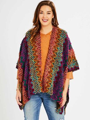 Alderney Poncho Sweater - A'Beautiful Soul