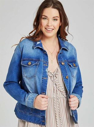 Classic Denim Jacket - A'Beautiful Soul