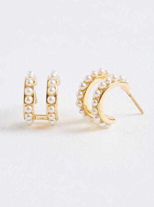 Krissa Pearl Earrings - A'Beautiful Soul