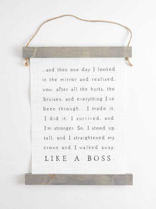 Like a Boss Banner - A'Beautiful Soul