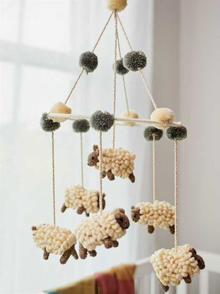 Tullabee Counting Sheep Pom Mobile - A'Beautiful Soul