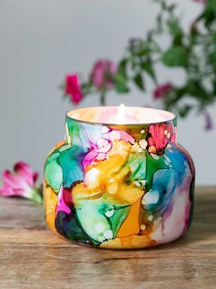 Rainbow Jar Candle - Volcano Scent - A'Beautiful Soul