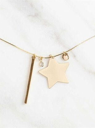 Be a Big Star Charm Necklace - A'Beautiful Soul