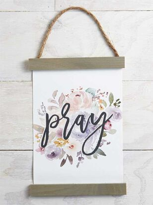 Pray Floral Banner - A'Beautiful Soul