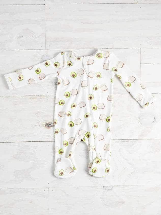Avocado Toast Onesie - A'Beautiful Soul