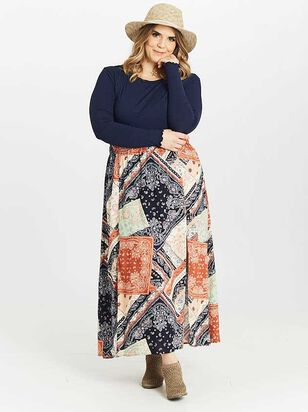 Maebry Maxi Skirt - A'Beautiful Soul