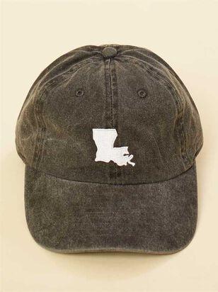 Our Home Canvas Baseball Hat - Louisiana - A'Beautiful Soul