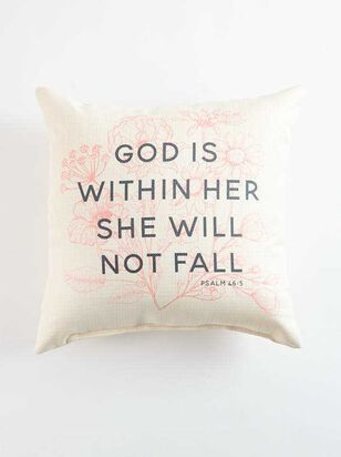 God is Within Her Pillow - A'Beautiful Soul
