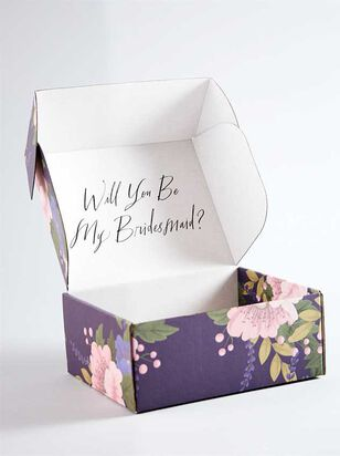 Vow'd Will You Be My Bridesmaid Gift Box - A'Beautiful Soul