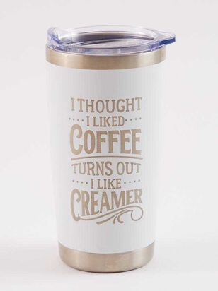 Thought I Liked Coffee Tumbler - A'Beautiful Soul