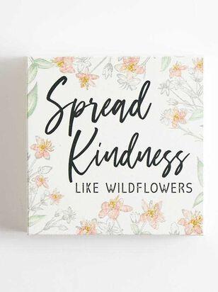 Spread Kindness Block Sign - A'Beautiful Soul