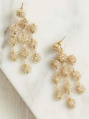 Flower Chandelier Earrings - A'Beautiful Soul