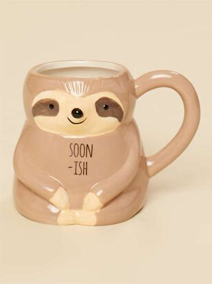 Soonish Sloth Critter Mug - A'Beautiful Soul
