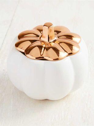 Ceramic Pumpkin Candle - A'Beautiful Soul