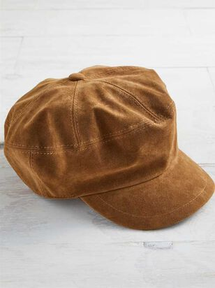 Suede Cabby Hat - A'Beautiful Soul