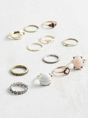 Radiance Ring Set - A'Beautiful Soul