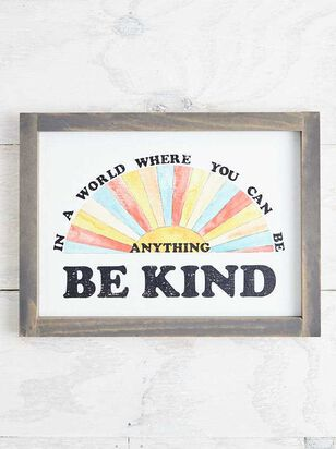 Be Kind Wall Art - A'Beautiful Soul