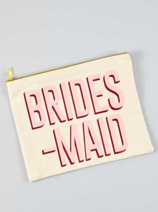Vow'd Bridesmaid Cosmetic Bag - A'Beautiful Soul