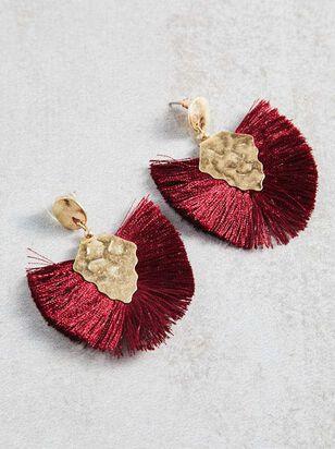 Madrid Tassel Earrings - A'Beautiful Soul