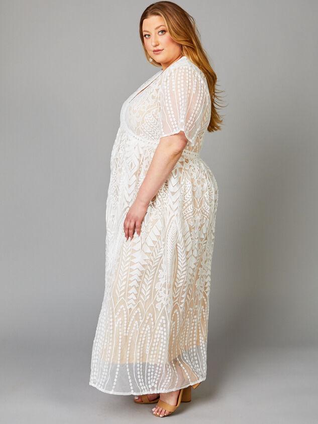 Gemini Maxi Dress Detail 2 - A'Beautiful Soul
