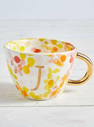 Hello Beautiful Monogram Mug - J - A'Beautiful Soul