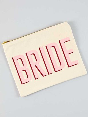 Vow'd Bride Cosmetic Bag - A'Beautiful Soul