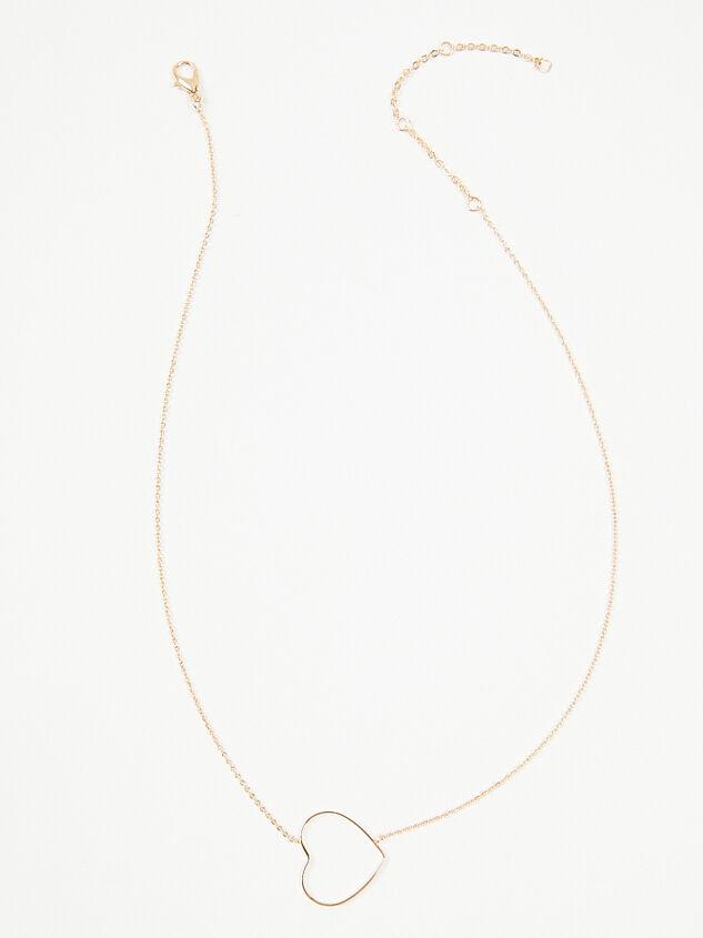 Dainty Heart Necklace Detail 2 - A'Beautiful Soul