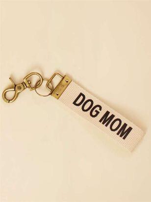 Dog Mom Canvas Keychain - A'Beautiful Soul