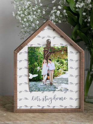 Let's Stay Home Clip Frame - A'Beautiful Soul