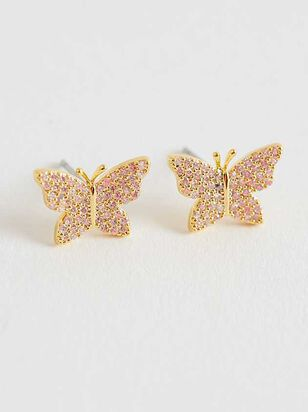 Butterfly Fields Earrings - A'Beautiful Soul