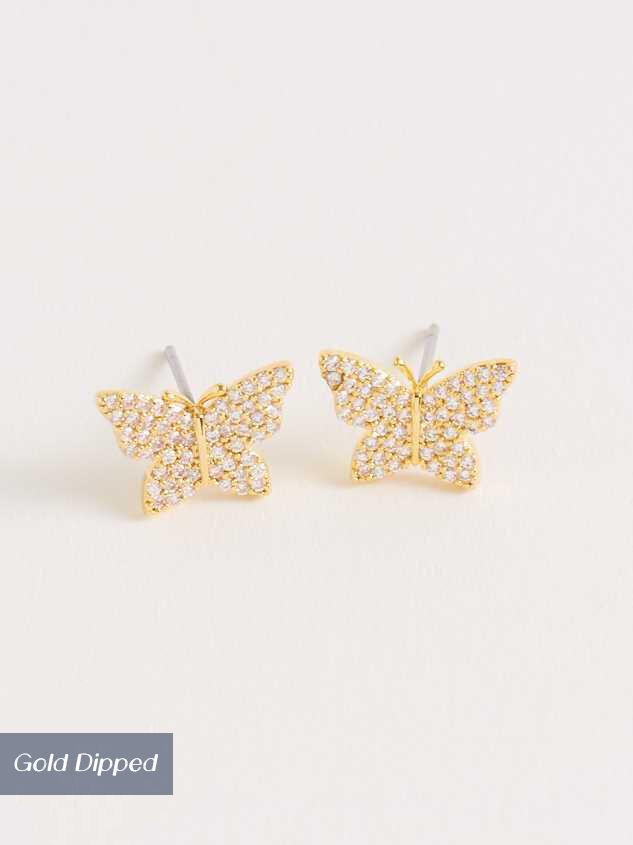 Butterfly Fields Earrings - A'Beautiful Soul