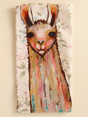 Llama and Friends Hand Towel - A'Beautiful Soul