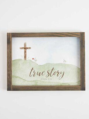 John 3:16 True Story Wall Art - A'Beautiful Soul