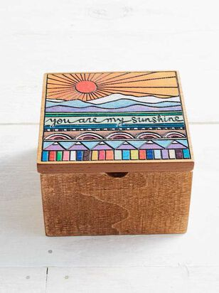 My Sunshine Wooden Box - A'Beautiful Soul
