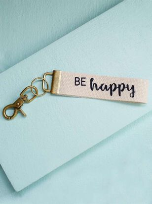 Be Happy Keychain - A'Beautiful Soul