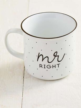 Mr. Right Est. 2019 Mug - A'Beautiful Soul