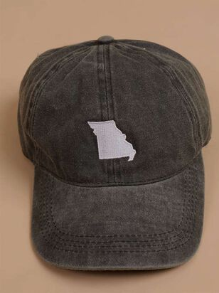 Our Home Canvas Baseball Hat – Missouri - A'Beautiful Soul