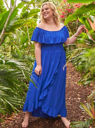 Lotus Maxi Dress - A'Beautiful Soul