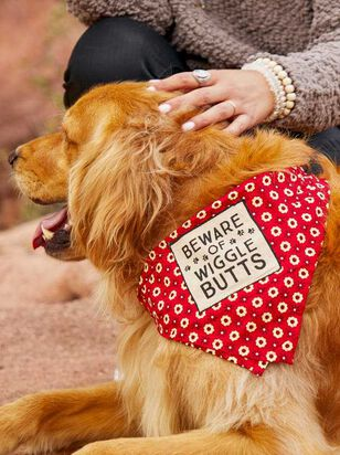 Wiggle Butts Pet Bandana - Large - A'Beautiful Soul