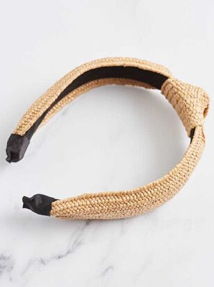 Raffia Knot Headband - A'Beautiful Soul