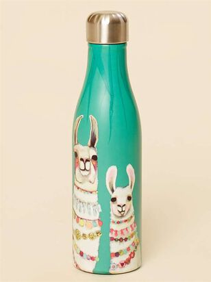 Boho Llama Water Bottle - A'Beautiful Soul