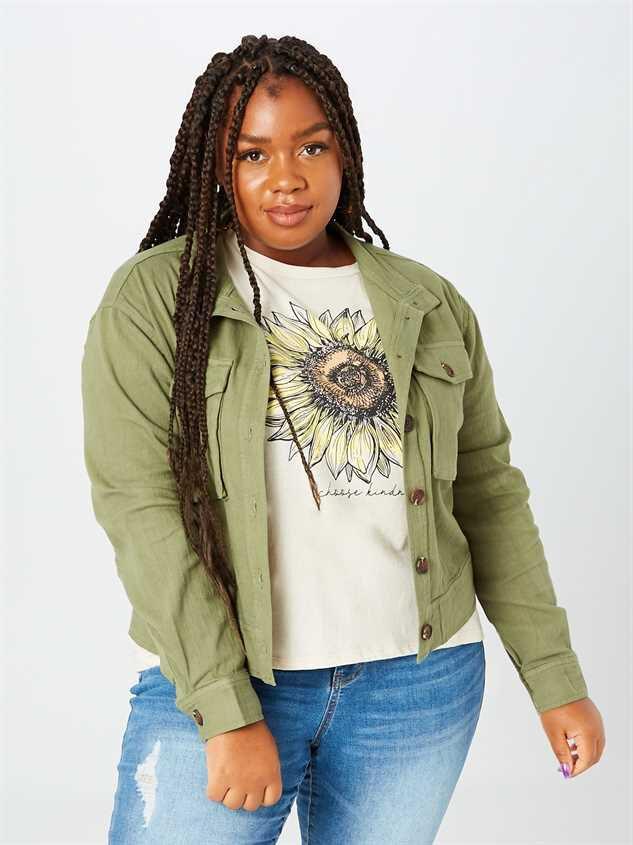 Bri Cropped Jacket - A'Beautiful Soul