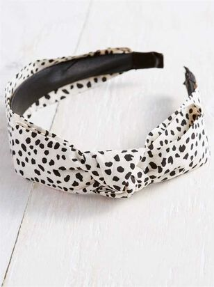 Dalmation Knot Headband - A'Beautiful Soul