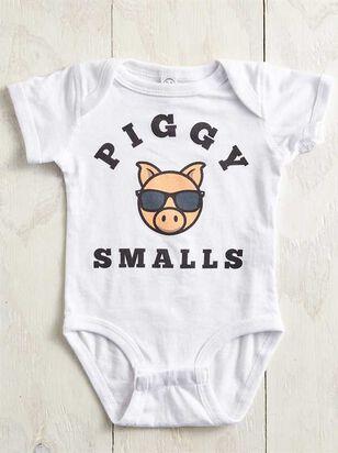 Tullabee Piggy Smalls Onesie - A'Beautiful Soul