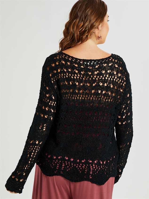Stratton Sweater Detail 3 - A'Beautiful Soul