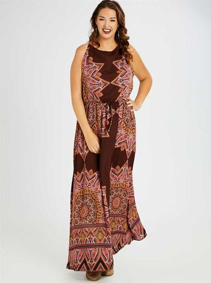 Kaleidoscope Maxi Dress - A'Beautiful Soul