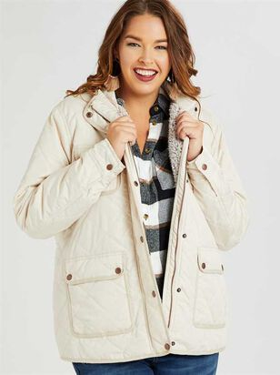 Alpine Quilted Puffer Jacket - A'Beautiful Soul
