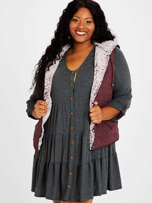 Carmen Outerwear Vest - A'Beautiful Soul