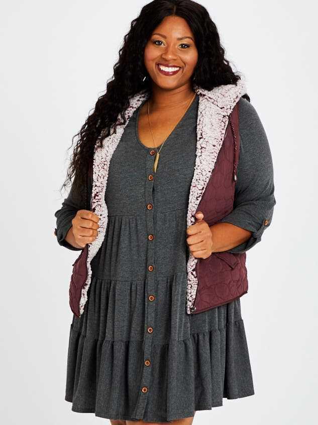 Carmen Outerwear Vest - A'Beautiful Soul