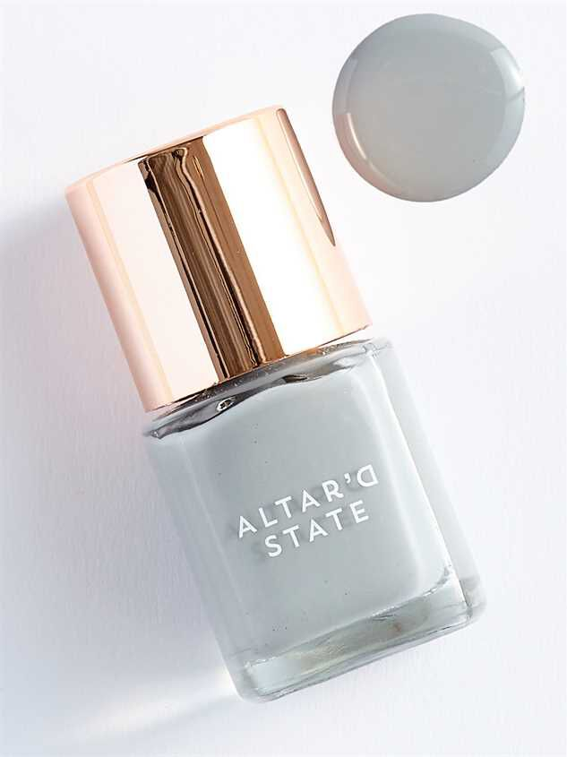 Light Gray Nail Polish | A\'Beautiful Soul